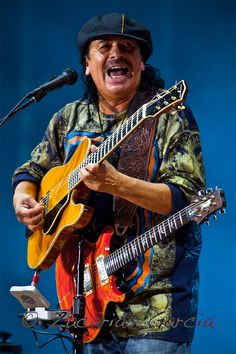 Carlos Santana - one of the greatest things coming out of Mexico