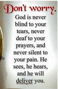 Jesus Christ Quotes:My brothers and sisters in Christ, let us not worry nor faint, when we don't see the mighty hand of God working in our lives right away, concerning those Prayer Scriptures, Prayer Quotes, Bible Verses Quotes, Faith Quotes, Wisdom Quotes, True Quotes, Blessed Quotes, Life Quotes In Hindi, Funny Life Quotes