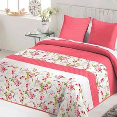 Colcha Bouti HOLLI Fundeco Quilt Bedding, Duvet, Bedroom Design For Teen Girls, Linens And Lace, Cushions, Pillows, Quilt Block Patterns, Bed Covers, Bed Spreads