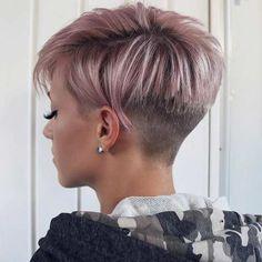 Short Hair Back, Short Grey Hair, Short Hair Cuts For Women, Long Hair, Short Hair Undercut, Haircut For Thick Hair, Thin Hair, Fade Haircut, Short Hair Trends