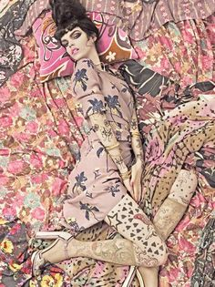 Vogue Patterns by Steven Meisel