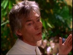 The other world Barbas (Billy Drago) as angel of Hope