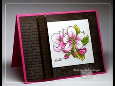 Pullin' Pastels video with Stately Flowers 9 from Gina K. Designs. Hands, Head and Heart