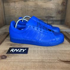 promo code 00bc3 e3233 adidas Shoes   New Adidas Superstar Adicolor   Color  Blue   Size  Various