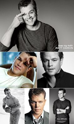 Hump Day Hottie: Matt Damon
