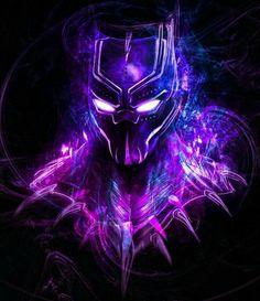 Black Panther, T & # Challa - Black Panther - Marvel Black Panther Marvel, Black Panther Images, Black Panther King, Hero Wallpaper, Avengers Wallpaper, Marvel Art, Marvel Avengers, Marvel Memes, Marvel Characters