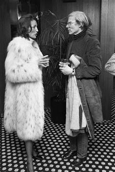 Lee Radziwill, friends with Andy Warhol