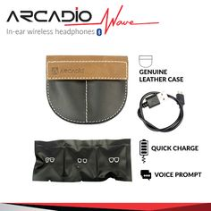Enjoy your favourite music with ARCADIO's noise cancelling over-ear headbands and on-ear waterproof headphones with extra bass, bluetooth and wireless functionality. Waterproof Headphones, Ear Headbands, Wireless Headphones, Leather Case, Waves, Wireless Earbuds, Beach Waves, Wave