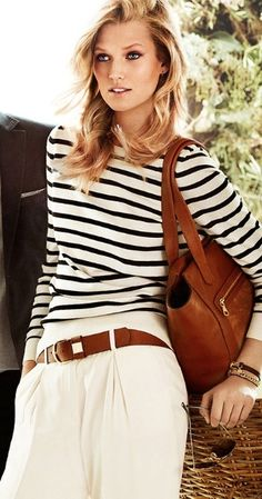 Stripes chic by Massimo Dutti