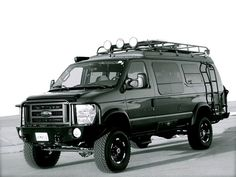 Sportsmobile 4WD Ford E-350 vans - Sportsmobile has decades of experience building heavy-duty 4x4 vans for expeditions. These motor homes are so capable they can often follow modified Jeeps or other hard-core 4WD vehicles up & over the world's best trails—with full camping amenities right on board. Inside, these compact vans offer many of the same features of conventional Class B motor homes. Ben Stewart/Popular Mechanics