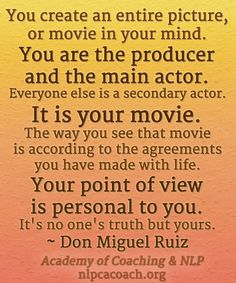 Powerful Don Miguel Ruiz Quote. Please re-pin!