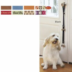 Poochie Door Bells - love ours... until Panzer learned he could just ring them anytime he wanted, not just for potty.