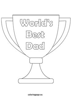 Super Dad coloring page Fathers Day Pinterest Super dad