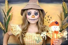 Transform Into A Creepy Scarecrow For Halloween With This Easy Tutorial [Video]