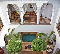 outdoor space in morocco