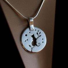 Silver Jewelry Silver Pendant Silver by AngelaWrightDesigns, £112.00