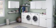 creative laundry room