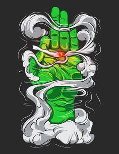 Cannabis shirt design on Behance Arte Dope, Dope Art, Dope Kunst, Arte Bob Marley, Vexx Art, Marijuana Art, Medical Marijuana, Cannabis Oil, Stoner Art
