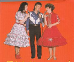 Here are Susie, Denny & Bev from the Ozark Mountain Hoe-Down in 1990. Kenny owned the Hoe-Down at this time.