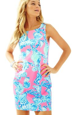 33c917fbf9af6 The Cathy Shift is our newest classic Lilly shift. This 19 inch shift dress  was