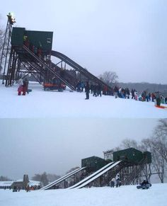 Toboggan run, Chestnut Ridge Park, Hamburg, NY
