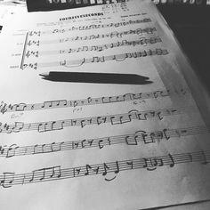 Got to love uni homework... #sheetmusic #homework #music #musicschool #university #student #book #bookworm #instabook #bookstagram #booklover by thelittlelibrarylad