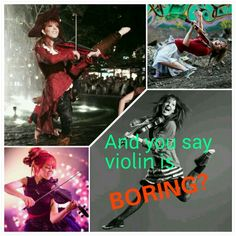Lindsey Stirling.   Created by Sarah Lopez