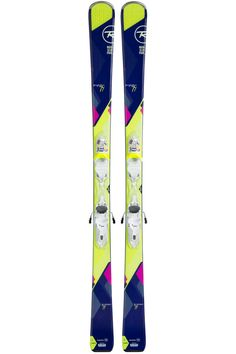 2017 Rossignol Women's Temptation 77 All Mountain Ski with Xpress Bindings - Basin Sports Carving Skis, Snow Conditions, Skiing, Gifts For Her, Mountain, Smooth, Technology, Shopping, Ideas