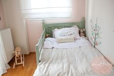 Paint Tales - Country style kids bed painted in custom mix Miss Mustard Seed milk paint Furniture, Room, Toddler Bed, Refurbished Furniture, Painted Furniture, Kids Furniture, Kid Beds, Milk Paint, Bed