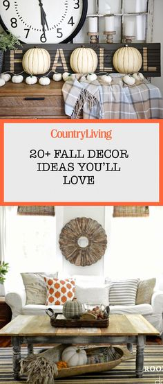 Here's seasonal home decor for every room in your house this fall. Autumn Decorating, Porch Decorating, Decorating Your Home, Decorating Ideas, Decor Ideas, Craft Ideas, Fall Home Decor, Autumn Home, Farmhouse Style