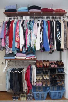 organizing the master closet 6 simple organizing tips, closet, organizing Linen Closet Organization, Closet Storage, Organization Hacks, Organizing Tips, Closet Redo, Household Organization, Closet Transformation, Deep Closet, Master Bedroom Closet