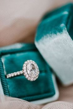 25 Gorgeous Engagement Rings To Get You Inspired: a stunning vintage-inspired oval-shaped diamond engagement ring with a halo #engagementring #diamondring #engagementrings #vintageengagementrings