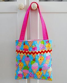 Ice Cream themed Tote bag for Girls £10.00