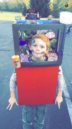 DIY Halloween fish tank