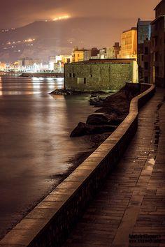 Tramontana's Wall, Trapani, Sicily #trapani