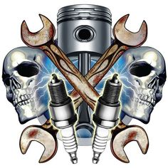 mechanic tool tattoos - Google Search