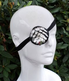 Scaled Eye Patch,  Silver Tone $25 on Etsy https://www.etsy.com/listing/166127558/scaled-eye-patch-silver-tone?ref=shop_home_active