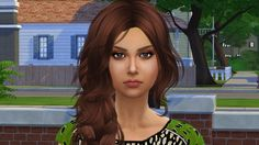 Diana by Elena at Sims World by Denver via Sims 4 Updates