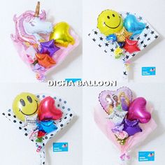 Balloon Gift, Hand Bouquet, Balloon Decorations Party, Balloon Bouquet, I Party, Birthday Balloons, Holidays And Events, Valentine Gifts, Centerpieces