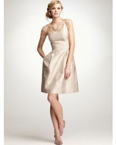 Ann Taylor, Spring 2012. Classy bridesmaids dress this is pretty