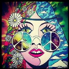 Hippie Chic~* so in love. WIsh I could blow this up and put it on canvas.