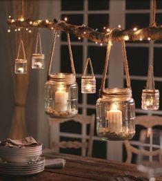 Ramadan Decorations, Christmas Decorations, Table Decorations, Diy Home Crafts, Diy Home Decor, Craft Room Decor, Creation Deco, Christmas Crafts, Diy Projects