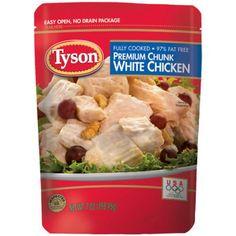 Tyson Premium Chunk White Chicken Breast, 7 oz