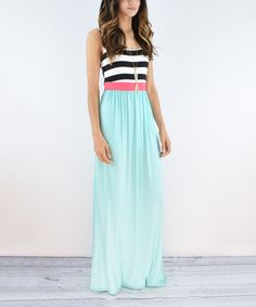 Take a look at this éloges Mint Maxi Dress today!