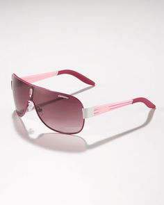 Children's Classic Carrerino Shield Sunglasses, Fuchsia/Pink by Carrera for the little princess as a Valentine's gift