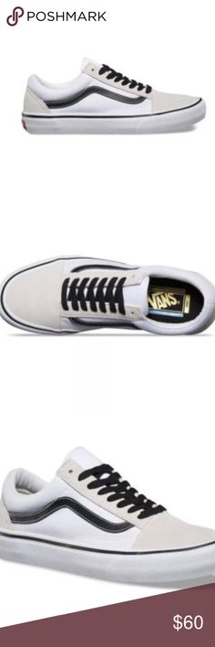 df29c2763ea Vans 50th Anniversary Old Skool Pro Black White Vans 50th Anniversary Old  Skool Pro Black White