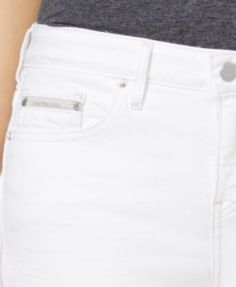 Calvin klein curvy fit skinny jeans