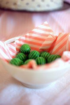 watermelon chewing gum