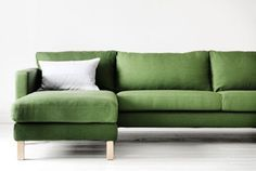 green modular sofa - Google Search