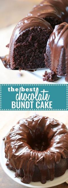 The Best Chocolate Bundt Cake: This really is the best (and thankfully most foolproof) chocolate cake around. With a rich, thick glaze, this little beauty is great the day you make it, but even better after a day or two in the fridge. Be featured in Model Citizen App, Magazine and Blog. www.modelcitizenapp.com